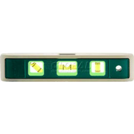 "9"" Magnetic Glo-View Heavy Duty Aluminum Torpedo Level"