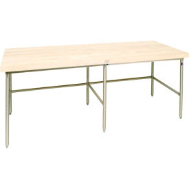 Bakers Production Table - Galvanized Frame 168X36