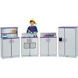 Jonti-Craft® Rainbow Accents® Kitchen Stove - Gray Top/Black Edge