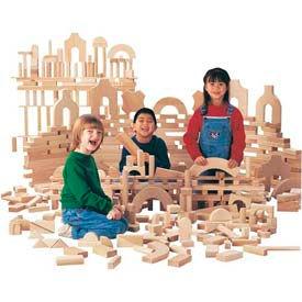 Jonti-Craft® Unit Blocks, Junior Set - 220 Pieces, 21 Shapes