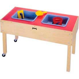 Jonti-Craft® 2 Tub Sensory Table