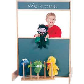 Jonti-Craft® Space Saver Multi-Play Screen - Chalkboard
