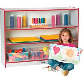 Jonti-Craft® Rainbow Accents® Super-Sized Adjustable Bookcase - Red