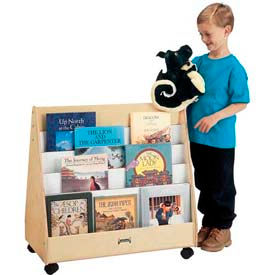 Jonti-Craft® Mobile Pick-a-Book Stand - 2 Sided
