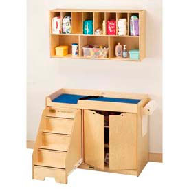 Jonti-Craft® Changing Table with Stairs - Left