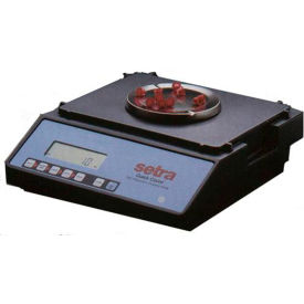 "Setra Quickcount Digital Counting Scale 11 x 0.0001lb/2500 x 0.02g 6-1/4"" Dia. Platform"