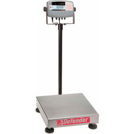 "Ohaus Defender Rectangular Bench Digital Scale 150lb x 0.02lb 12"" x 14"" Platform"