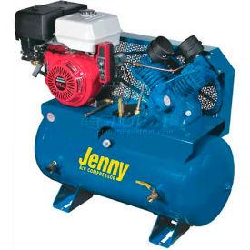 Jenny® Service Vehicle Compressor GT11HGB-30T, 11HP, Honda Electrc Start, 175 PSI, 30 Gal Tank