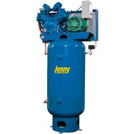Jenny® Vertical Stationary Compressor U75B-80V-230V, 1PH, 7.5HP, 175 PSI, 80 Gal
