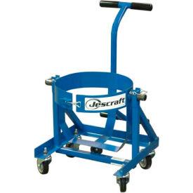 Jescraft™ Barrel Cart BC-200-4SBK for Ardex Barrels - 15 Gallon Capacity