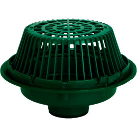 """Josam 21503-Z Large Sump Roof Drain w/Poly Dome and 3"""" No-Hub Outlet"""