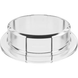Justrite 12868 Closed Adapter for Carboy Cap, Clear, 83mm