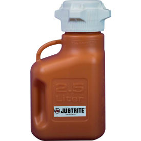 Justrite 12919 Carboy, HDPE, 2.5-Liter by