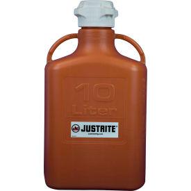 Justrite 12921 Carboy, HDPE, 10-Liter
