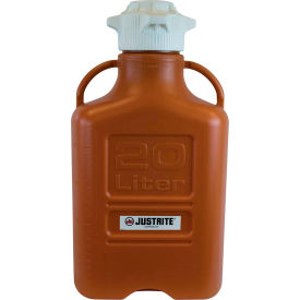 Justrite 12922 Carboy, HDPE, 20-Liter by