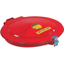 Justrite® 26752 Manual Drum Lid with Gasket and Vent for 55 Gallon Drums
