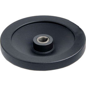 "JW Winco - 14KE69/AZI - Blk Clutch Handwheel w/ Needle Bearing w/o Handle 5.51""D-14mm Bore & Keyway"