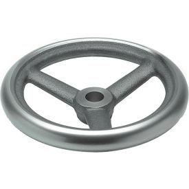 "JW Winco - 34MN92/A - Cast Iron Spoked Handwheel w/o Handle - 19.69"" Dia x 34mm Bore"