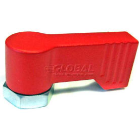 J.W. Winco Zinc Die-Cast Stop Lock w/ Tap - Red