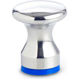 Hygenic Design Waist Shaped Knob - Tapped - M6 - Polished - J.W. Winco 75.6-25-M6-D-PL