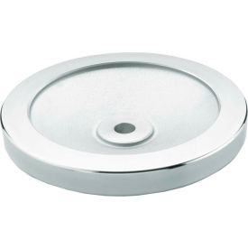 "JW Winco - 8MF04/A - Aluminum Solid Disk Handwheel w/o Handle - 3.15"" Dia x 8mm Bore"