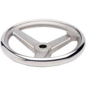"JW Winco - 950.6-160-B14-A - Stainless Steel Spoked Handwheel w/o Handle - 6.30"" D x 14mm Bore"