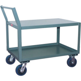 Jamco Offset Handle Low Profile Cart SX336 2400 Lb. Capacity 30 x 36