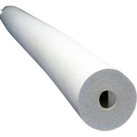 """Insul-Tube® 6'L, 1"""" Wall Thickness, 1-5/8"""" Nom. I.D - White - Pkg Qty 8"""