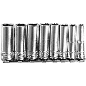 "Chrome Socket, 1/4"" Drive, 12mm, Deep"