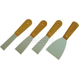 Scraper Set - 4 Piece, Wood Handles