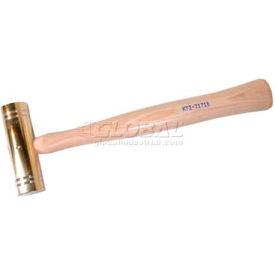 K-Tool KTI-71715 Brass Hammer W/ Hickory Handle - 1-1/2 Lb.