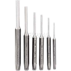 """Pin Punch Set 6 Piece-3/32"""", 1/8"""", 5/32"""", 3/16"""", 1/4"""", 5/16"""" by"""