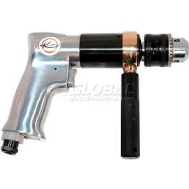 """K-Tool KTI-84229, 1/2"""" Pistol Air Drill, 0.5 HP, 800 RPM, 4 CFM, Reversible, 90 PSI"""