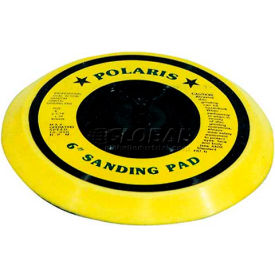 "K-Tool KTI-85697, 6"" Dual Action Flex Sanding Pad, Yellow Vinyl"