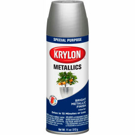 Krylon Metallic Paint Dull Aluminum - K01403007 - Pkg Qty 6
