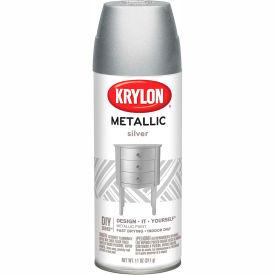 Krylon Metallic Paint Silver Metallic - K01406007 - Pkg Qty 6