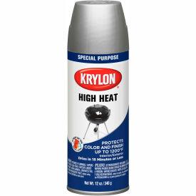 Krylon High Heat Paint Bbq & Stove Aluminum - K01407000 - Pkg Qty 6