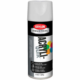 Krylon (5-Ball) Interior-Exterior Paint Gloss White - K01501A07 - Pkg Qty 6