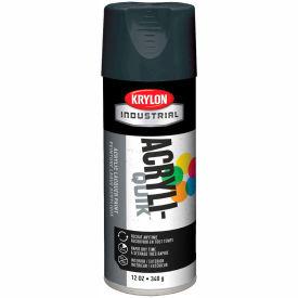 Krylon (5-Ball) Interior-Exterior Paint Shadow Gray - K01604 - Pkg Qty 6