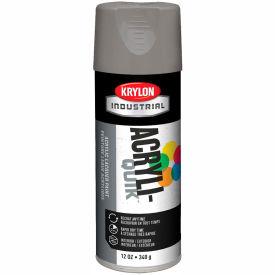 Krylon (5-Ball) Interior-Exterior Paint Smoke Gray - K01608 - Pkg Qty 6