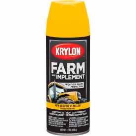 Krylon Farm And Implement Paint New Cat Yellow - K01944000 - Pkg Qty 6