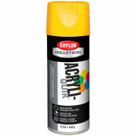 Krylon (5-Ball) Interior-Exterior Paint Sun Yellow - K01806A07 - Pkg Qty 6
