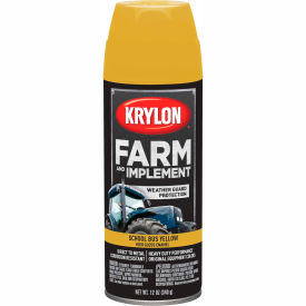 Krylon Farm and Implement Paint School Bus Yellow