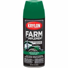 Krylon Farm and Implement Paint John Deere/Case Green - K01932000 - Pkg Qty 6