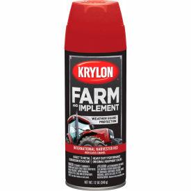 Krylon Farm And Implement Paint Int'L Harvester Red - K01933000 - Pkg Qty 6