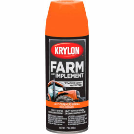 Krylon Farm And Implement Paint Allis Chalmers Orange - K01940000 - Pkg Qty 6