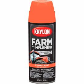 Krylon Farm And Implement Paint Kubota Orange - K01946000 - Pkg Qty 6
