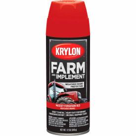 Krylon Farm And Implement Paint Massey Ferguson Red - K01939000 - Pkg Qty 6