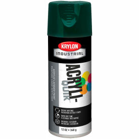 Krylon (5-Ball) Interior-Exterior Paint Hunter Green - K02001 - Pkg Qty 6