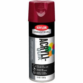 Krylon (5-Ball) Interior-Exterior Paint Cherry Red - K02101 - Pkg Qty 6